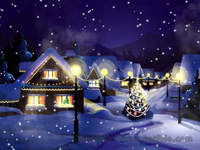 Christmas Snowfall Wallpaper 20 Free Download
